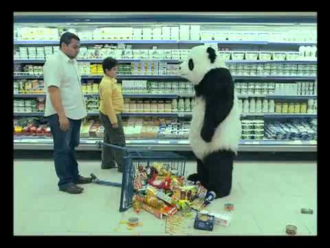 Evil Panda at the Grocery Store - Video.flv