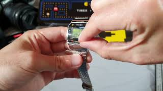 Timex T80 x PACMAN™  watch unboxing and review