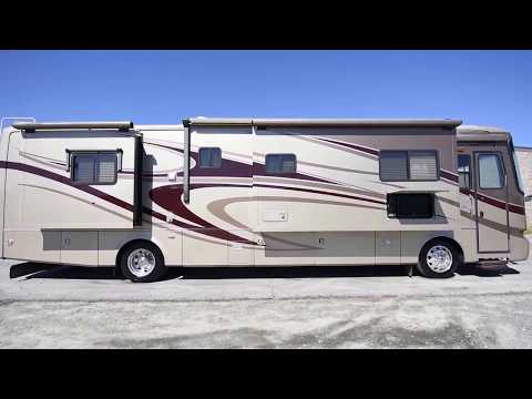 2007 Monaco Knight 40PDQ A Class Diesel Pusher from Porter's RV Sales