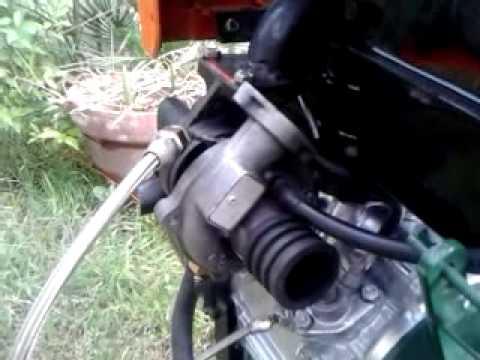 Motozappa motocoltivatore turbo youtube for Motozappa youtube