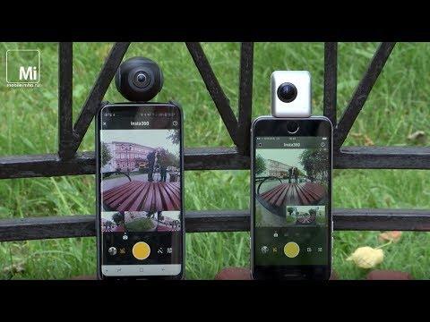 Превращаем смартфон в камеру 360 градусов. Insta360 Air и Nano.