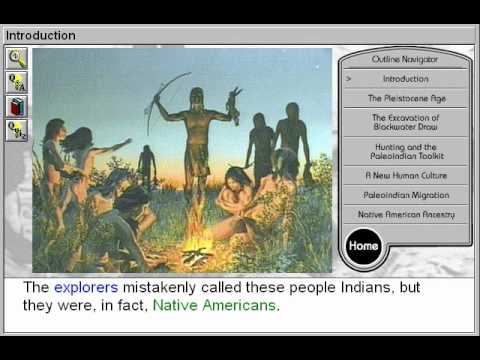 The First Americans: The PaleoIndians (First Americans: The PaleoIndians Part 1)