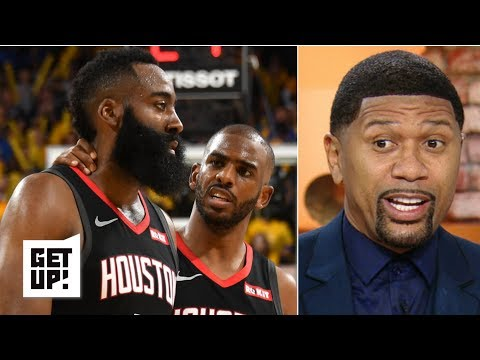 'It is not happening' – Jalen Rose doubts the Rockets can overcome the Warriors' 2-0 lead | Get Up!