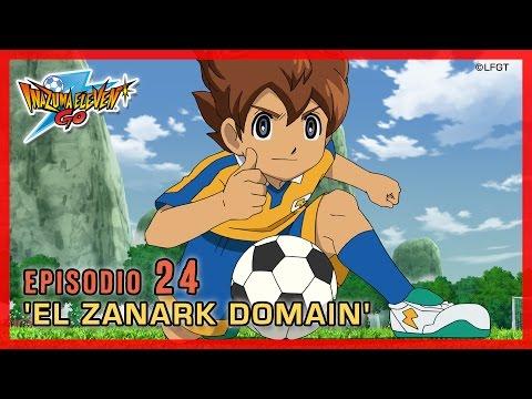 Inazuma Eleven Go Chrono Stones - Episodio 24 español «¡El Zanark Domain!»