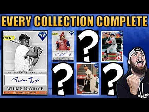 10 DIAMONDS UNLOCKED! 99 WILLIE MAYS SIGNATURE SERIES MLB THE SHOW 19 COLLECTIONS COMPLETE!