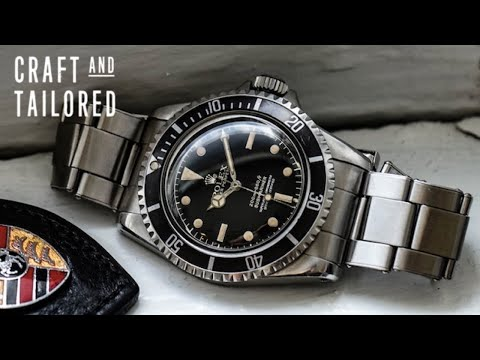 What Is On My Wrist: 1962 Rolex Submariner Ref. 5512 Gilt Chapter Ring Exclamation PCG