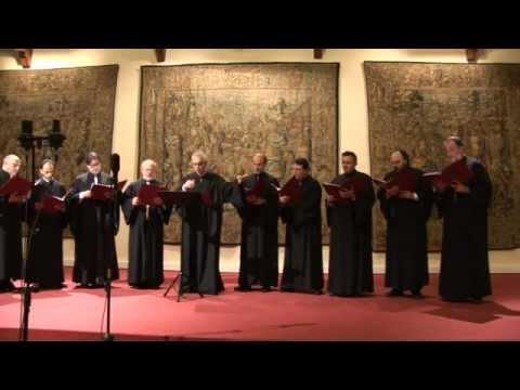 Greece - Byzantine music liturgy - Choir Aghiopolitis 1
