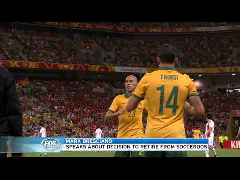 Mark Bresciano, Socceroos ready to move on without me
