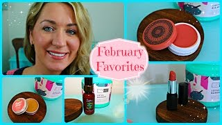 February Favorites~ Sappho Organics~Red Apple Lipstick~Lush and more