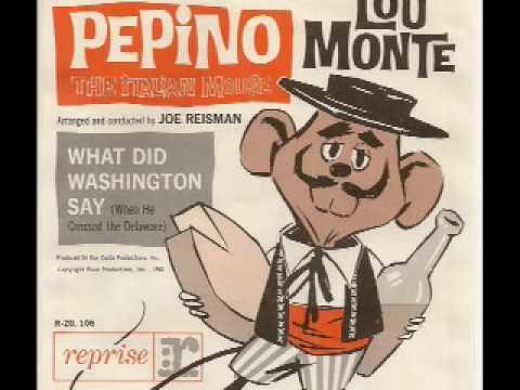 Lou Monte Pepino The Italian Mouse