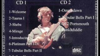 MIKE OLDFIELD - Live In Hannover (1981) CD 1