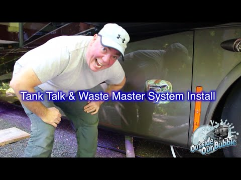 RV Gray and Black Tank Thoughts and Waste Master Install