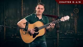 Обзор акустической гитары CRAFTER D 6 N
