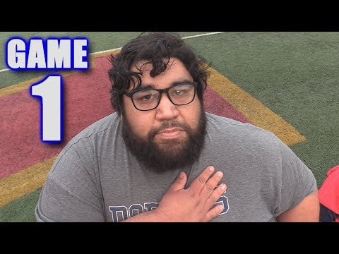 FOOTBALL PLAYER FIRED FOR KNEELING DURING ANTHEM! | On-Season Football Series | Game 1