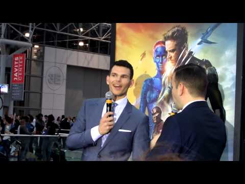 X-Men X-Perience at Jacob K. Javits Conv. Center: Josh Helman ...