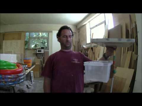 Surfcasting paf serbidora con vaschetta fai da te - Porta canne da pesca fai da te ...