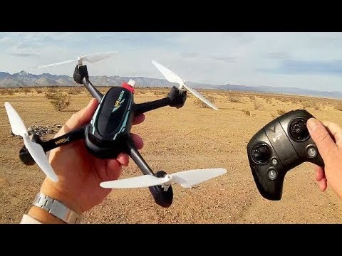 Hubsan H216A X4 Desire GPS FPV Explorer Drone Flight Test Review