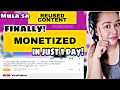 Reused Content -SOLVED! || TIPS To Get MONETIZED Within A Day! || YOUTUBE MONETIZATION APPROVED!