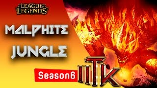 League of Legends - Malphite Jungle - Pre Season 6 [PT-BR]