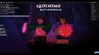 (late upload) roblox:[Undyne] Glitchtale: Battle of Souls (85 sub special