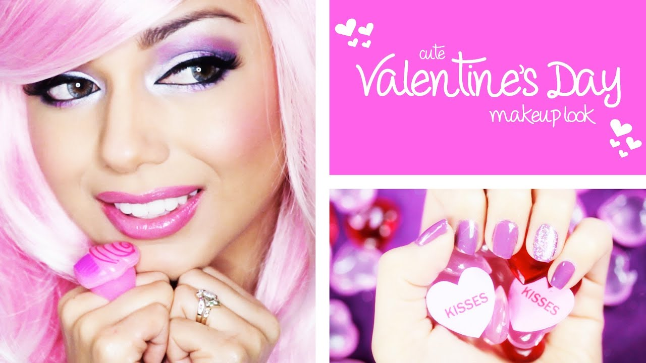 Valentine S Day Makeup Tutorial Charisma Star Youtube