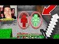 GREEN STEVE FIGHTS RED STEVE IN MINECRAFT!