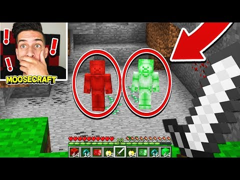 Thumbnail: GREEN STEVE FIGHTS RED STEVE IN MINECRAFT!