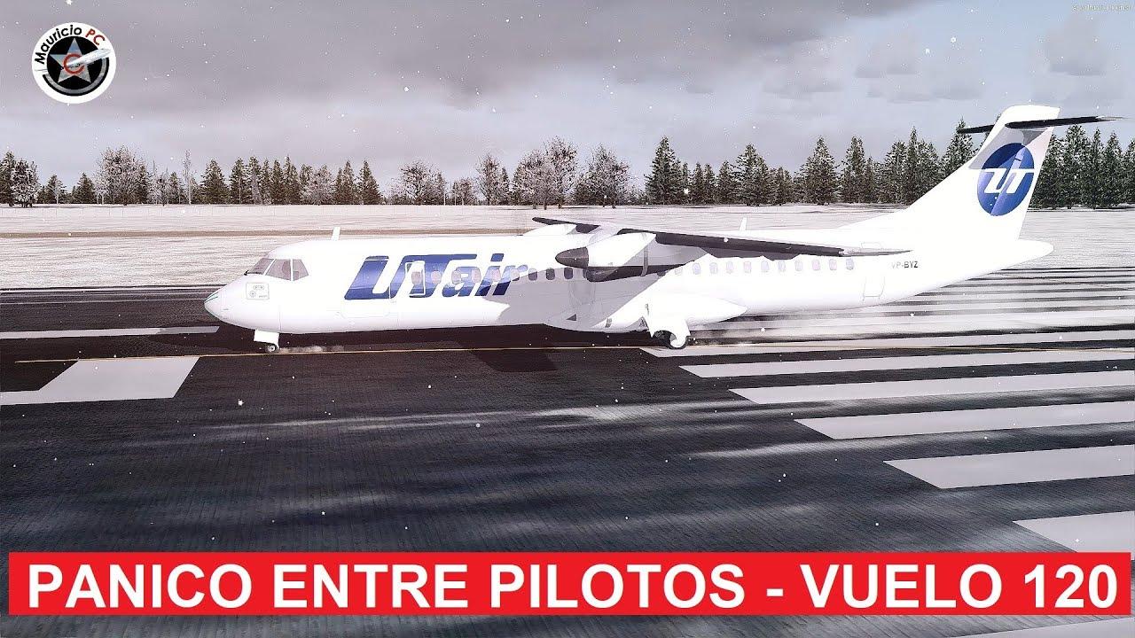Pilotos entran en pánico al despegar - Utair Aviation 120