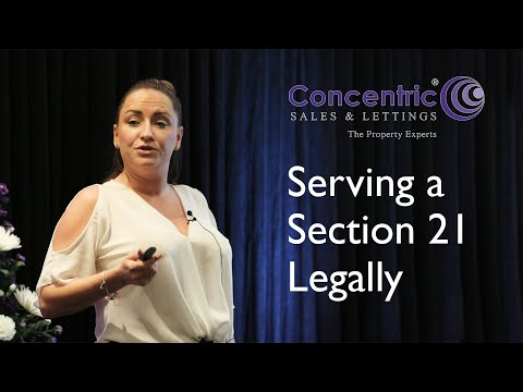 Landlord Seeking Possession & Section 21's - Can You Serve One?