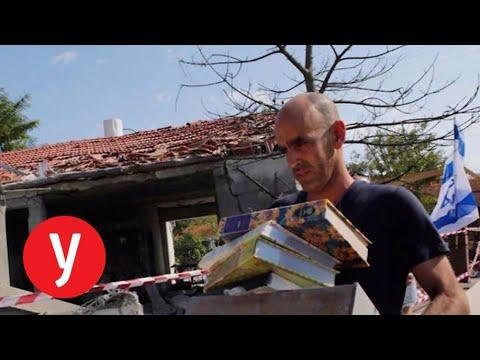הבית שנפגע מרקטה לפני שנה - עדיין הרוס אולפן Ynet