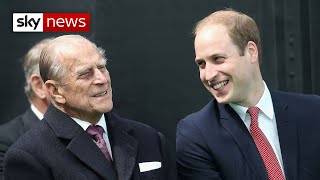 'I will miss my Grandpa' - Prince William