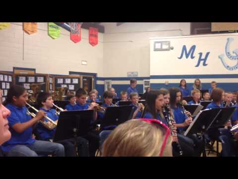 Meadow Hill Middle School 6th grade band