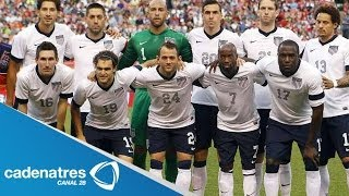 El presidente Barack Obama reconoce desempeño de la selección de fútbol estadounidense