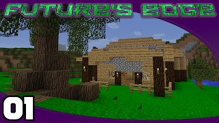 Future's Edge - Ep. 1: Dont Tell Wifey! | Minecraft 1.10.2 Modded Survival