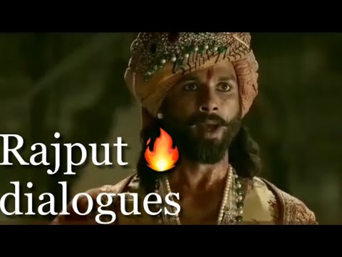 Rajput dialogue in Padmavati | Rajput attitude whatsapp status video | Padmavati movie all dialogue