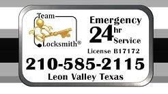 Team-Locksmith® Leon Valley TX 210-585-2115 Car Keys Emergency Lockout