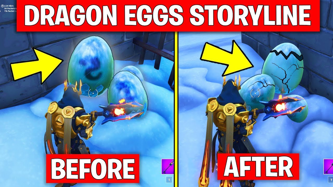 new fortnite season 7 dragon eggs storyline confirmed fortnite battle royale - fortnite dragon eggs hatching