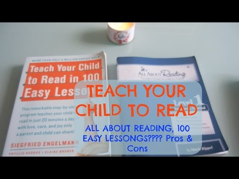 TEACH YOUR CHILD TO READ | All About Reading & 100 easy lessons pros & cons|