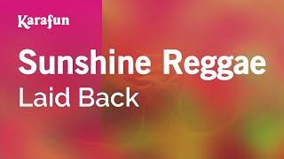 Karaoke Sunshine Reggae - Laid Back *