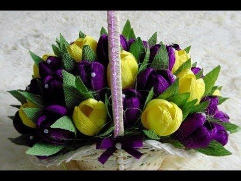 Как весенние цветы своими руками фото 846