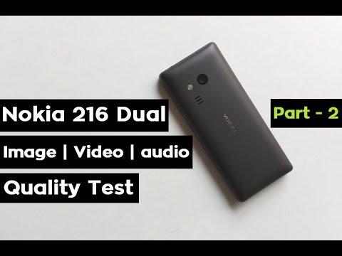 Nokia 216 Dual Sim Review | Image | Video | Audio Quality Test | Keypad Mobile | Part -2