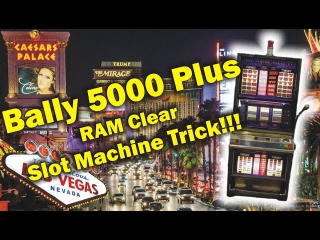 How To Clear A Slot Machine
