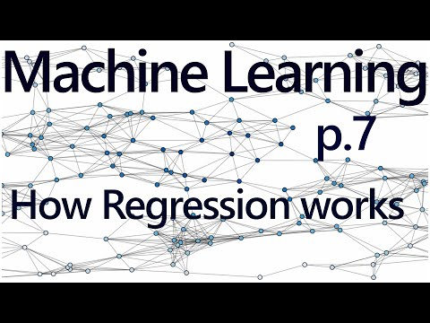 Regression How it Works - Practical Machine Learning Tutorial with Python p.7
