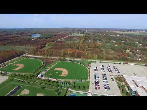 An Aerial View of West Ottawa High School Campus