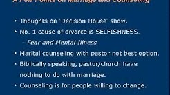 Counseling With Pastor?  DON'T DO IT!!! [p