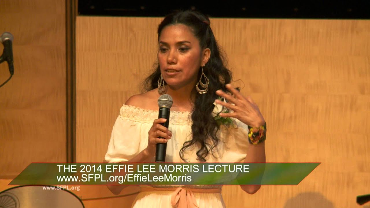 Yuyi Morales Effie Lee Morris Lecture at the San Francisco Public Library