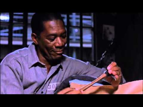 morgan freeman `s best acting ,NO.1 movie (IMDB) and best scene of TSR