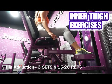 5 EXERCISES TO TARGET INNER THIGHS | Planet Fitness