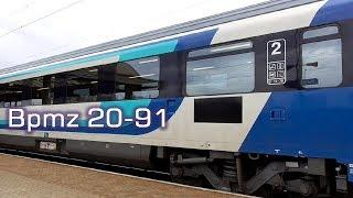 Vasúti személykocsi / Passenger coach H-START Bpmz 20-91