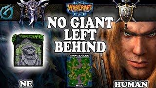 Grubby | Warcraft 3 TFT | 1.30 | NE v HU on Concealed Hill - No Giant Left Behind